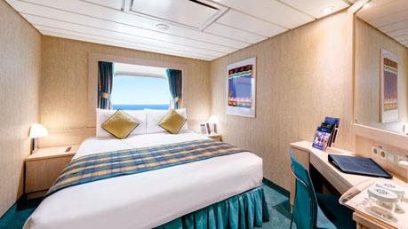 Oceanview Stateroom - Fantastica Experience