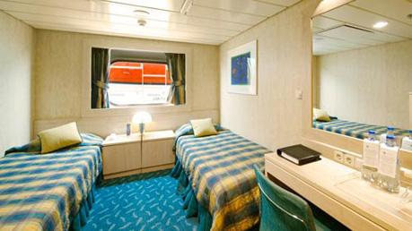 Oceanview Partial View Stateroom - Bella Experience