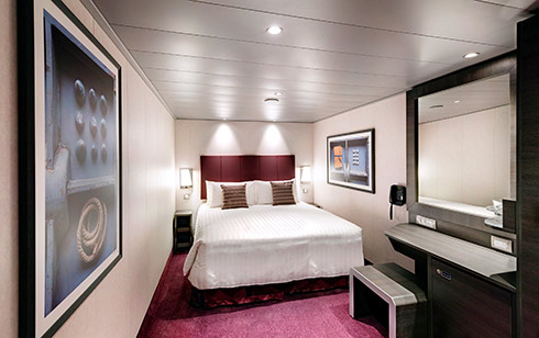 Inside stateroom - Bella Experience