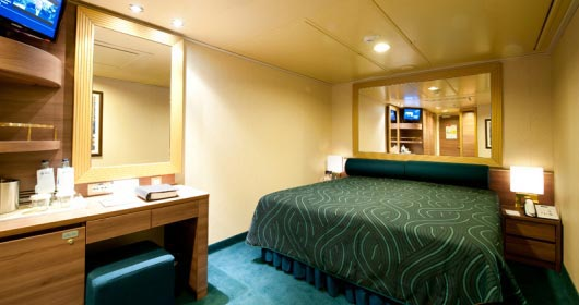 Inside stateroom - Fantastica Experience