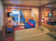 Mid-Ship Mini-Suite with Balcony