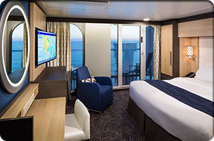Deluxe Ocean View Stateroom with Balcony