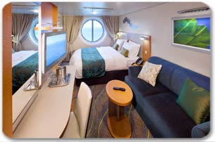 Ocean View Stateroom - Forward Aft