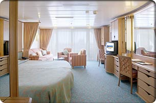 Cruises with Voyager of the Seas staterooms