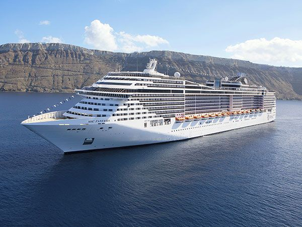 Cruises with MSC Fantasia
